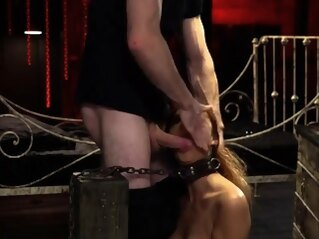 bdsm Her and playfellow gag Poor lil' Jade Jantzen, she just desi blowjob hd