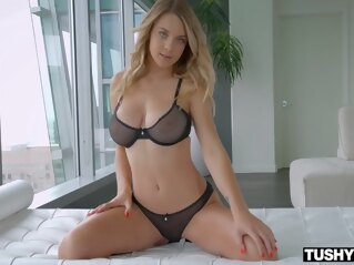 anal Gabbie Carter - Sweet Anal Experience big tits blonde