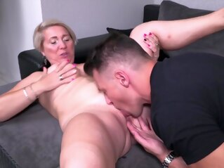 big tits Blonde Mature blonde hd