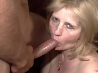 blonde TuttiFrutti - Swinger party with hot MILFs cumshot group sex