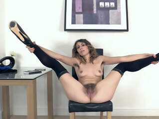 amateur Terri Rose strips naked and enjoys her body - Compilation - WeAreHairy compilation hairy
