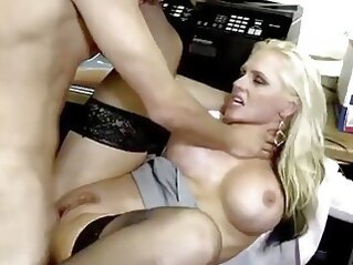 big tits DevilsFilm Slamming Big Titty MILF at the Office stockings milf