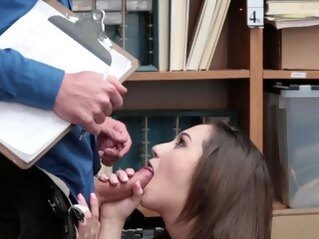 blowjob Mom and crony's boss fuck almost caught by dad Suspect initi brunette hardcore